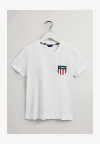 SHIELD - Basic T-shirt - white