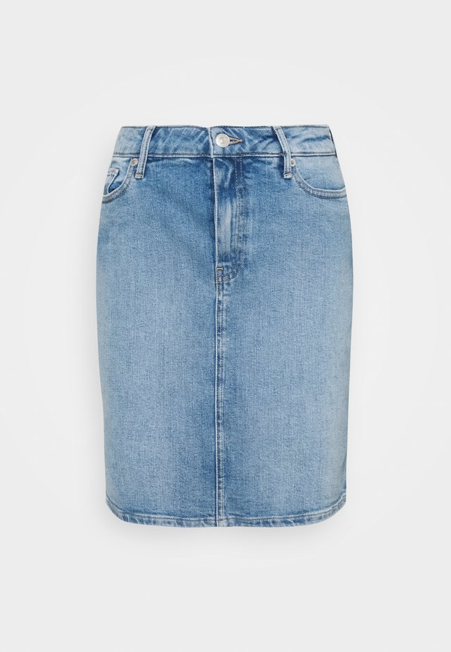 ROME SHORT SKIRT - Spódnica ołówkowa  - blue denim