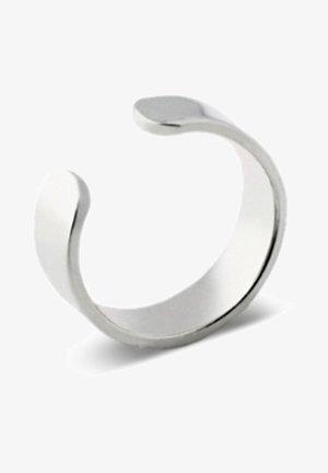 FLAT EAR CUFF - Oorbellen - silver