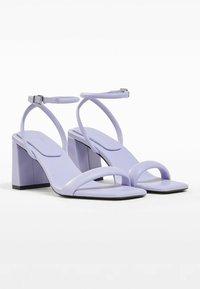 Bershka - Sandals - mauve - 2
