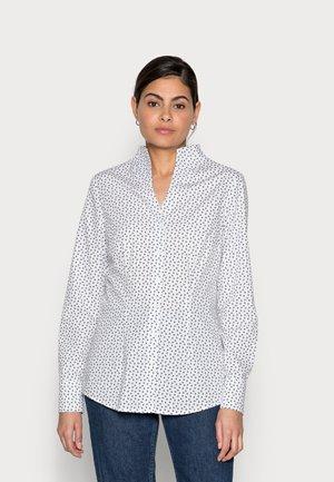 CITY LANG - Button-down blouse - white