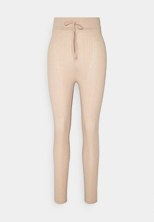 Leggings - Trousers - camel