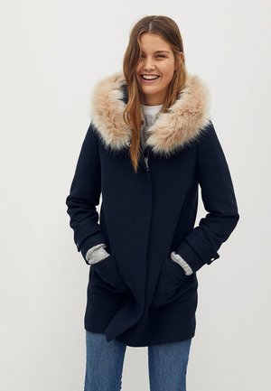 Cappotto invernale - dunkles marineblau