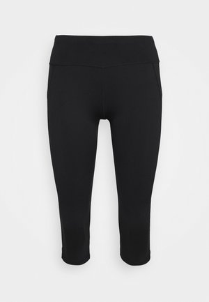 CONTOUR CAPRI WORKOUT LEGGINGS - 3/4 sportbroek - black