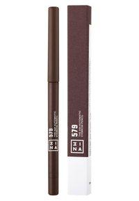 3ina - THE 24H AUTOMATIC EYEBROW PENCIL - Kredka do brwi - 579 dark brown - 2