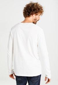GANT - THE ORIGINAL - Langærmede T-shirts - egg shell - 2