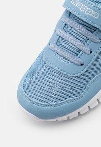 Kappa - UNISEX - Sports shoes - light blue/white - 5