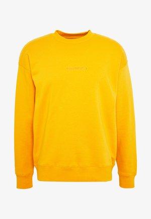 MOCK NECK CREW - Sweatshirt - sunflower gold