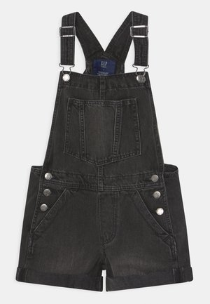GIRL - Dungarees - black wash