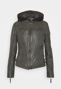 Gipsy - NOLA LAGA - Leather jacket - grey - 6