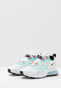 Nike Sportswear - AIR MAX 270 REACT - Trainers - white/black/bleached aqua/chile red/speed yellow - 2
