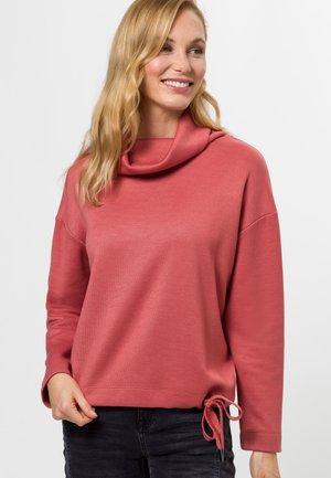 MIT ROLLKRAGEN - Sweatshirt - rose ash