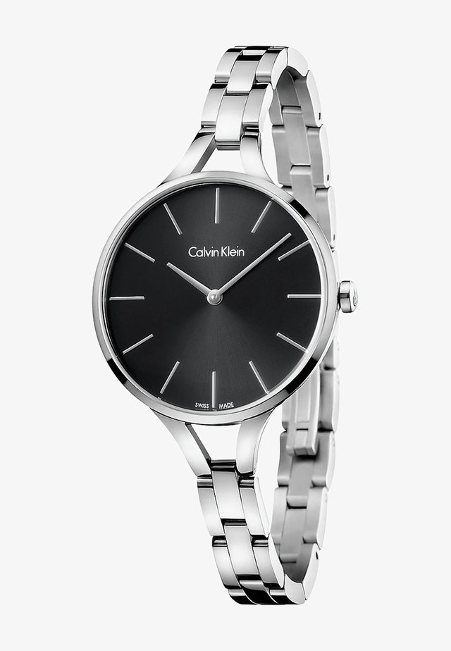 GRAPHIC - Watch - silver-coloured/black