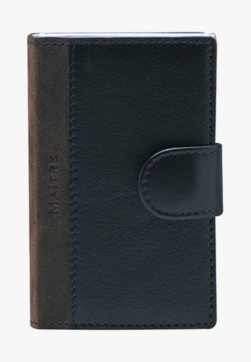 MAITRE - BUNDENBACH C-TWO E-CAGE SV8F - Wallet - darkbrown
