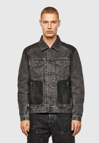 Diesel - Giacca di jeans - black - 0