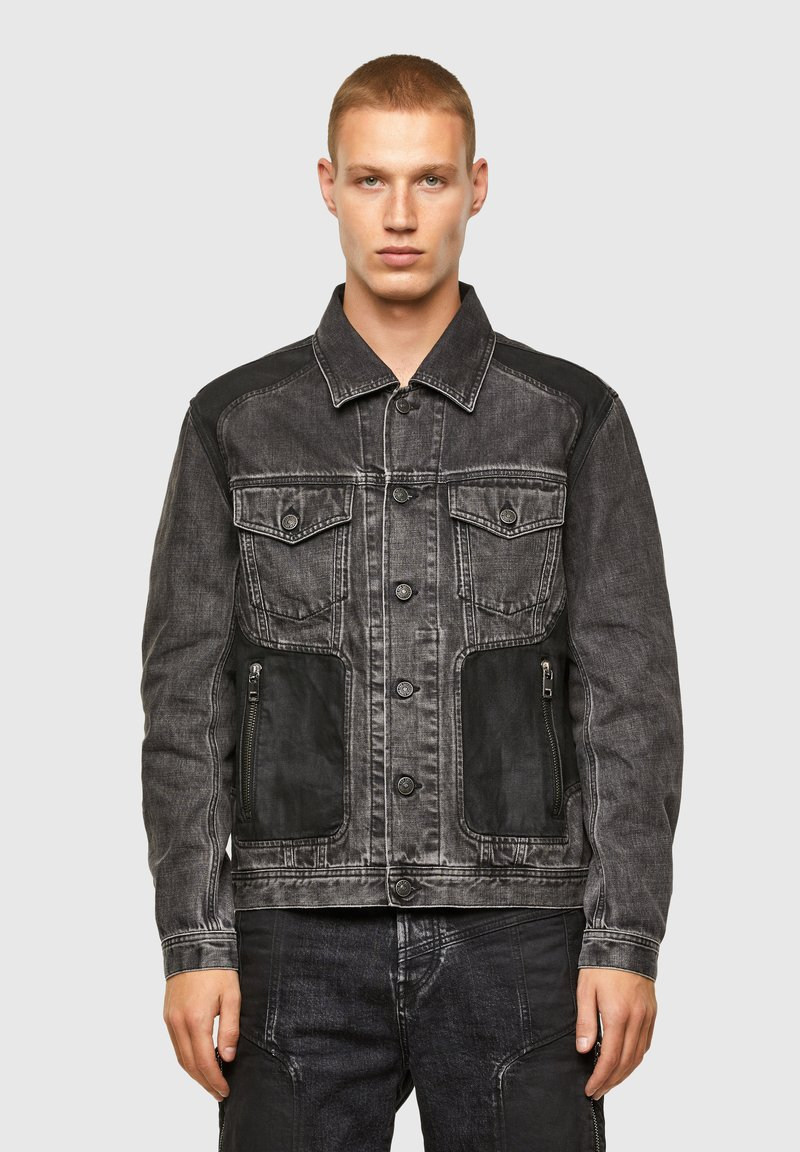 Diesel - Giacca di jeans - black