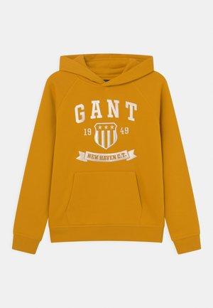 NEW HAVEN BANNER HOODIE UNISEX - Sweatshirt - ivy gold