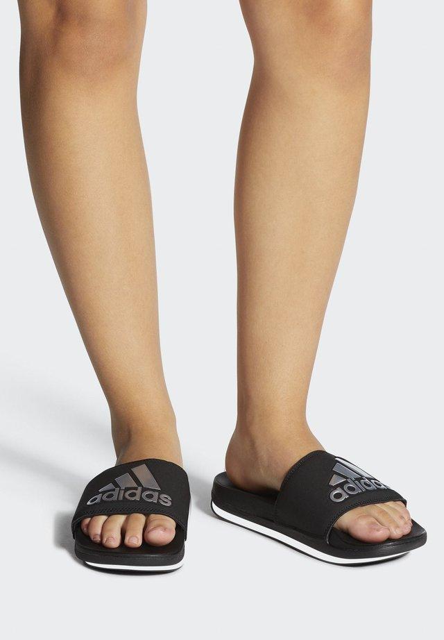 ADILETTE COMFORT SLIDES - Sandales de bain - black