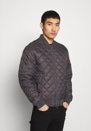 GABBLE QUILT - Light jacket - charcoal