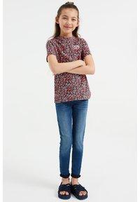 WE Fashion - MEISJES MET OPDRUK, 2-PACK - Print T-shirt - multi-coloured - 0