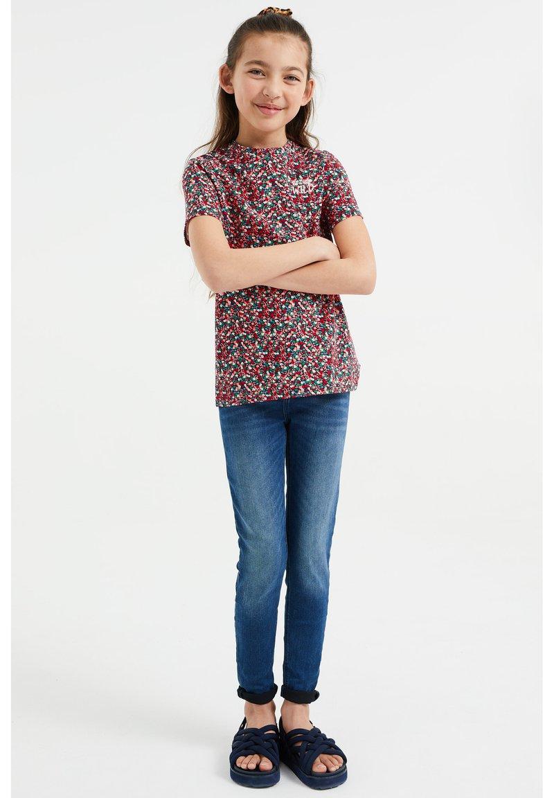 WE Fashion - MEISJES MET OPDRUK, 2-PACK - Print T-shirt - multi-coloured