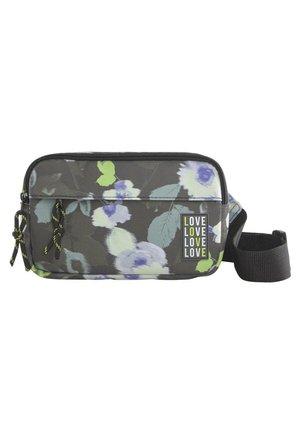 TOM TAILOR 2 GÜRTELTASCHE MIT FLORALEM PRINT - Bum bag - khaki floral design