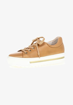 Trainers - cuoio (gold)