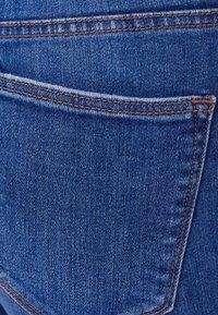 Bershka - MIT SEHR HOHEM BUND  - Jeans Skinny - blue - 5