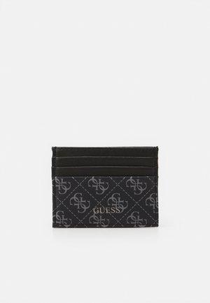 VEZZOLA CARD CASE - Monedero - black