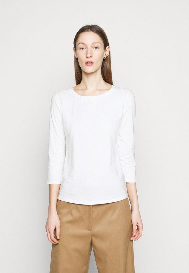 MULTIA - Maglietta a manica lunga - weiss