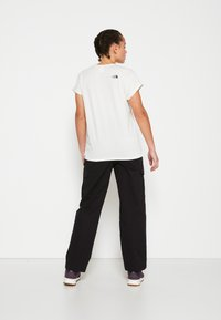 The North Face - W TISSAACK TEE  - Print T-shirt - vintage white - 5