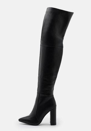 GRESHA - Boots med høye hæler - black