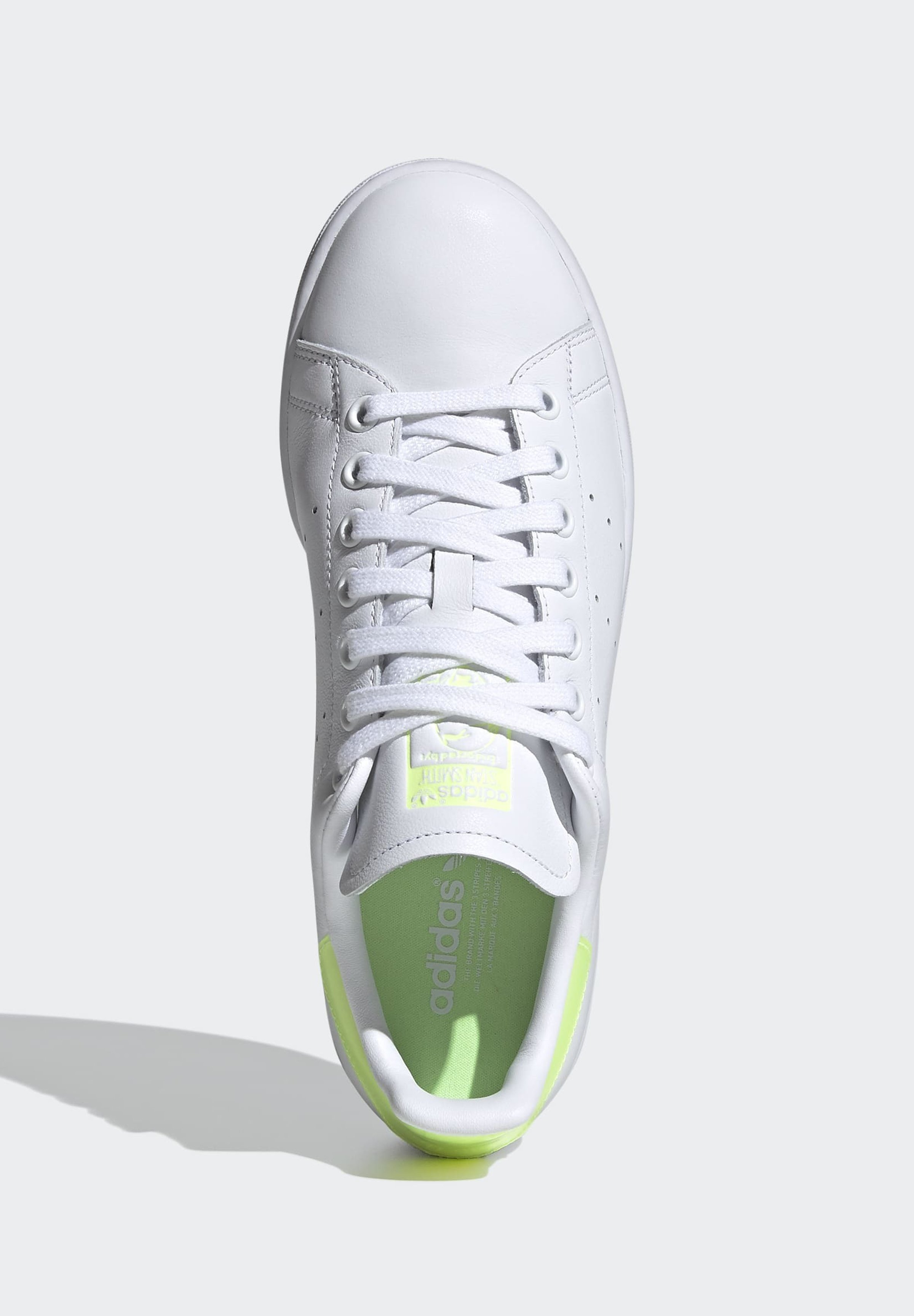 adidas Originals STAN SMITH SPORTS INSPIRED SHOES Sneaker low ftwwht/hireye/ftwwht/weiß