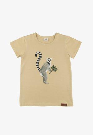 Print T-shirt - lemurs