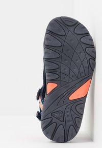 Kappa - RUSHEEN - Walking sandals - navy/coral - 5