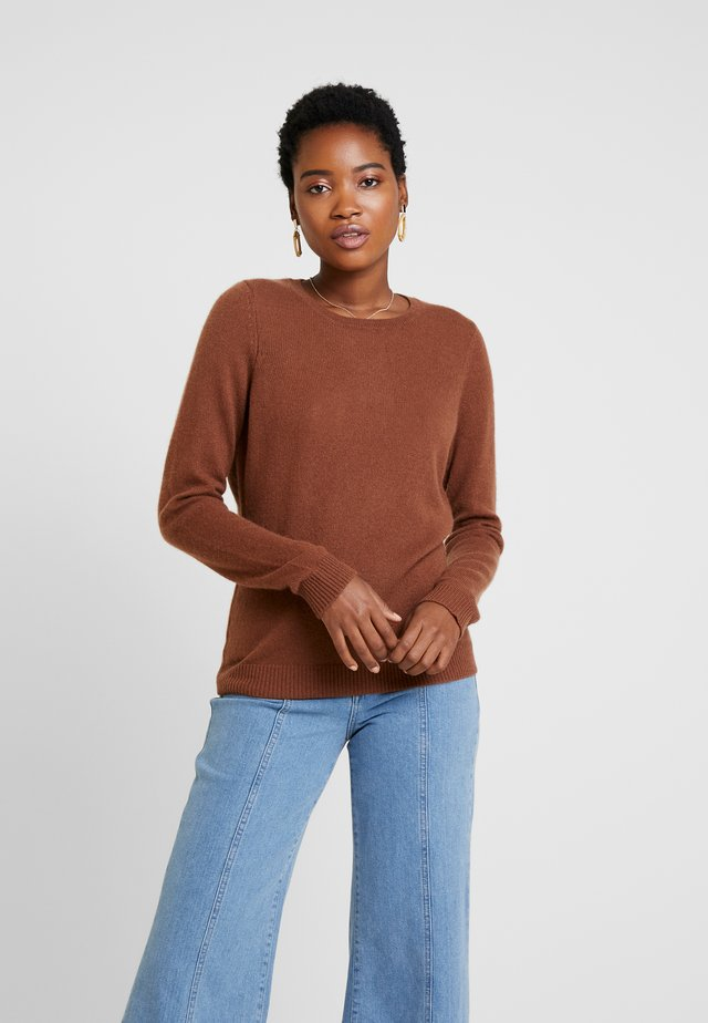 CASHMERE - Strikkegenser - brown