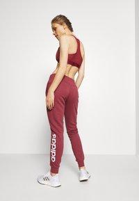 adidas Performance - PANT - Spodnie treningowe - legred/white - 2