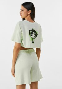 Bershka - POWERPUFF GIRLS - Short - green - 2