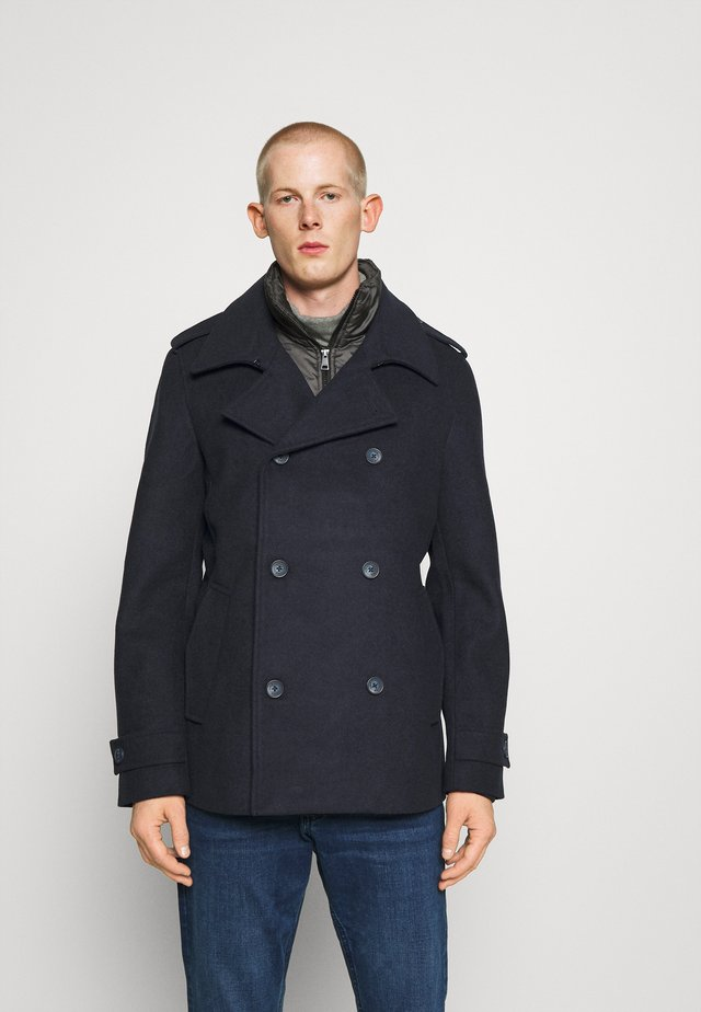CABAN - Short coat - sky captain blue
