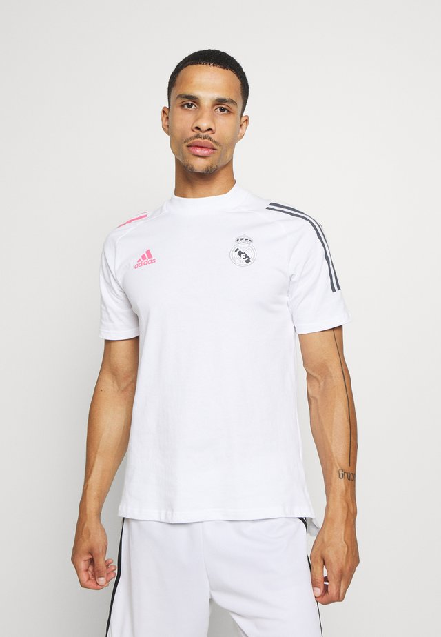 REAL MADRID FOOTBALL SHORT SLEEVE  - Article de supporter - white