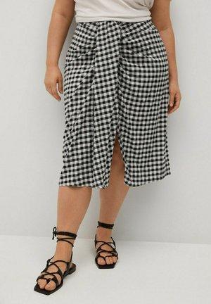 SHARI - Wrap skirt - cremeweiß