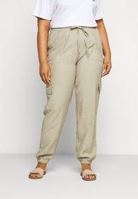 Zizzi - LONG PANTS - Trousers - tuffet - 0