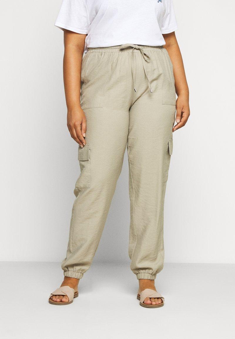 Zizzi - LONG PANTS - Trousers - tuffet