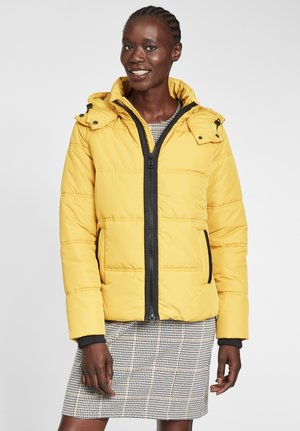 Winterjas - ceylon yellow