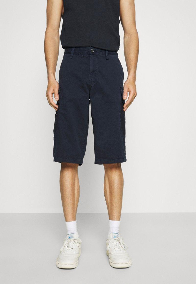 s.Oliver - BERMUDA - Shorts - dark blue