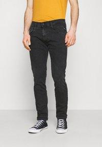 Replay - ANBASS HYPERFLEX REUSED - Slim fit jeans - dark grey - 0