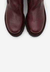 lilimill - ASTRID - Platform ankle boots - sidney magenta - 5