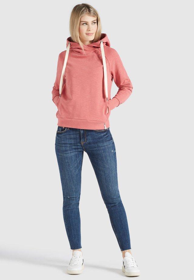 NARISSA - Bluza z kapturem - rosa