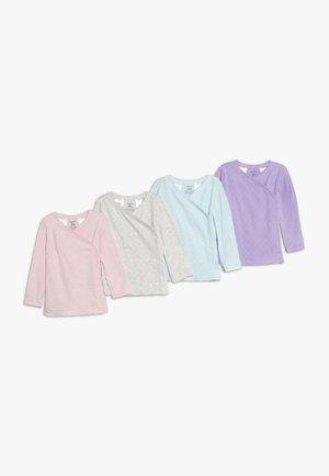 SIDESNAP BABY 4 PACK - Undershirt - multi-coloured