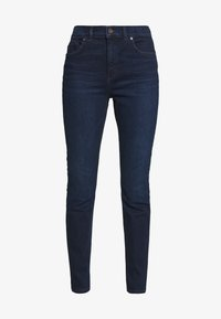 TROUSER - Slim fit jeans - dark blue base wash